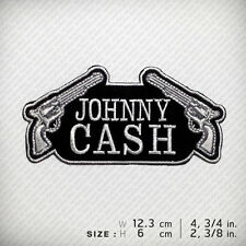Johnny Cash EMBROIDERED PATCH IRON ON, American Style KEEP CALM & WALK THE LINE