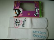 FURBY TODDLER SLIPPER SOCKS NON-SKID  FITS AGES 2 - 4  YEARS OLD  ((  WHITE  ))