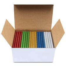 200 teXet Mixed Colour Hot Melt Adhesive Mini Glue Sticks 100mm Long 7.2mm Wide