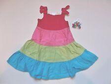 NWT Gymboree Ice Cream Sweetie Tiered Colorblock Twirl Sun Dress Hair 3 3T