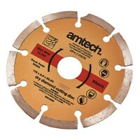 "115mm 4.5"" Diamond Cutting Disc Grinder Cutter Blade Masonary & Hard Brick Stone"