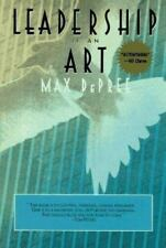 Leadership Is an Art by Max De Pree (1990, Paperback), NEW