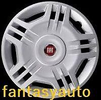 Fiat Panda Dal 2003 > 2012 Set 4 Pezzi Borchie Copri Cerchio Ruota 14''