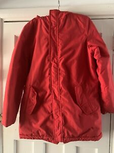 Zara boys red jacket age 10