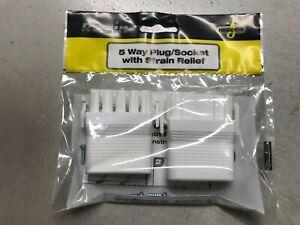 REGIN REGE105  5 WAY PLUG / CONNECTOR / SOCKET