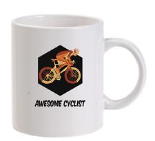 Awesome cycliste hommes Drôles Tasse vélo bicycle Montagne Route BMX TOUR
