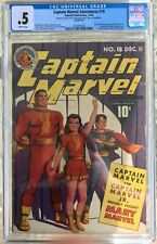 Captain Marvel Adventures #18 (1942) CGC .5 or 0.5 -- 1st & origin Mary Marvel