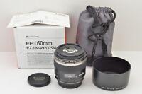"""""""EXCELLENT"""" Canon EF-S 60mm F2.8 MACRO USM AF Lens for EOS EF-S Mount #181120f"""