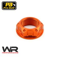Yamaha XVZ1200TD Venture Royale 84-85 Probolt Orange Steering Stem Yoke Nut