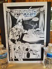 NEXUS Horatio JUDAH Dave TYRONE Sundra COMIC Book STORYBOARD Hugh Haynes Signed