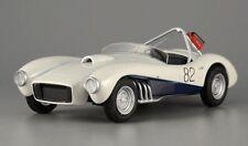 ZIL-112S Soviet Sports Car FR Layout Diecast White Model 1:43 Scale USSR 1961