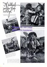 Conejo y erizos mecki 1940 XL página con foto ilustraciones Diehl película Gräfelfing +