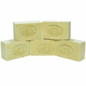 100% Hygienic %100 Olive Oil Castile Soap Bar Organic Hand Body Cleaner 200g Dln