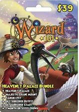 WIZARD 101 HEAVENLY PALACE BUNDLE   ONLINE GAME CARD   EMAIL DELIVERY