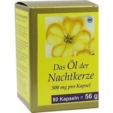 NACHTKERZE ÖL KAPSELN 500 mg 80St Kapseln PZN 7463654