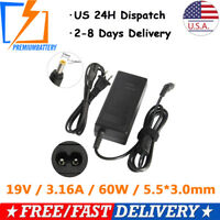 AC Adapter Power Charger Cord for Samsung ADP60ZH-D AD-6019R CPA09-004A 60W