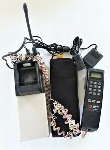 Vintage Motorola Cellular One Bag Phone SCN2252A 52289A Cell Phone Car Phone