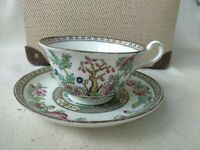 """Vintage Anchor China Indian Tree Cup 4.5"""" 220  Saucer 6.5"""""""