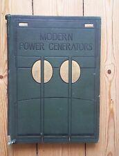 Modern Power Generators Vol2 HB Talwin Morris Glasgow School Weir French