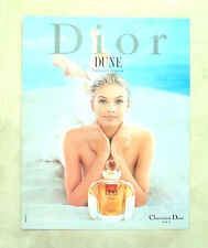E732- Advertising Pubblicità -1997- CHRISTIAN DIOR DUNE PARFUM D'EVASION