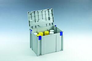 TANOS Classic Sprühdosen Einsatz Systainer IV SYS 4 licht grau koppelbar > T-LOC