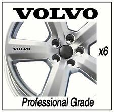 VOLVO ALLOY WHEEL STICKERS  S60 S40 C30 XC90 C70 XC60 Adhesive Graphic decals