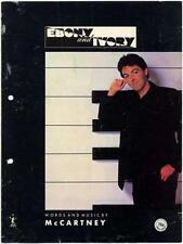Paul McCartney Ebony and Ivory Sheet Music