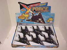 6 pack US Air Force Unmanned DRONE 1:100 Diecast 8 inch NSA Lights and Sounds