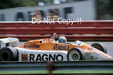 Mauro Baldi Arrows A4 Austrian Grand Prix 1982 Photograph