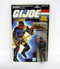 GI JOE IRON GRENADIERS Vintage Action Figure MOC COMPLETE 3 3/4 v1 1988
