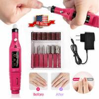 Pro Electric Nail Drill Machine Manicure Kit Nail Art Pen Pedicure Nail File Set
