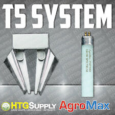 "48"" 6400K 2x54W Lamp 4Ft T5 Fluorescent Tube Grow Light Hydroponic Fixture HO"