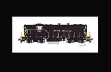 "Frisco GP7 #502 11""x17"" Matted Print Andy Fletcher signed"