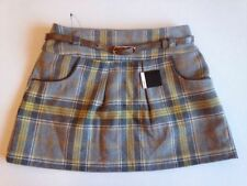 Atmosphere Polyester Checked A-line Skirts for Women