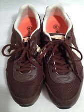 Converse Brown Athletic Shoes Womens Lace Up Walking Hiking Size 6 Very Nice (A6