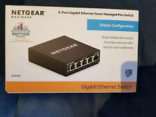 NETGEAR GS305 5-Port Gigabit Switch Desktop