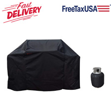 """58"""" Bbq Grill Cover Waterproof For Weber Genesis E & S 300 Series Gas Grills"""