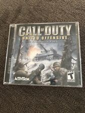 Call Of Duty  United Offensive Expansion Pack 2 disc Activision PC Video WINDOWS