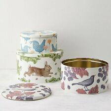Thornback & Peel Cake Tin Set 3 Tins Rabbit