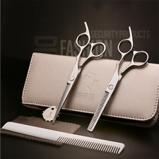 7pc Hairdressing Scissors Salon Barber Hair Cutting Thinning Set Professional