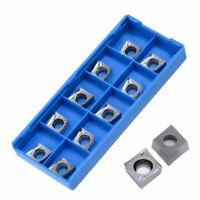 10Pcs CCGT09T304-AK H01 CCGT32.51-AK H01 Aluminum CNC Carbide Inserts Tool