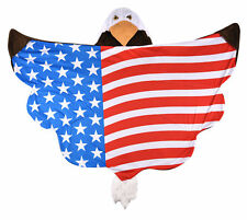 Wild Things Ace Eagle Blanket by Fin Fun