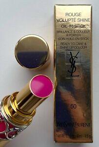 YSL lipstick 50 FUCHSIA STILETTO BNIB