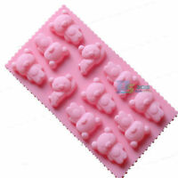 Bear Silicone Cake Chocolate Cookie Candy Pastry Mould Soap Ice Mold Bakeware