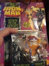 Toy Biz 1994 Iron Man Heavy Metal Heroes Steel Figures WAR MACHINE VS MODOK R11