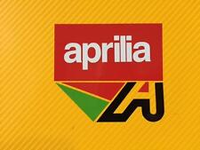 Aprilia Badge Track bike or road fairing Decals Stickers PAIR #157