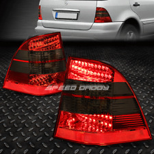 [LED BRAKE LIGHT]FOR 98-05 MERCEDES BENZ ML-CLASS W163 TAIL LAMP SET RED/SMOKED
