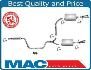 Fits 1995-2002 Lincoln Continental Muffler DUAL Exhaust Pipe System