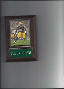 JULIUS PEPPERS PLAQUE GREEN BAY PACKERS FOOTBALL NFL