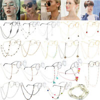 Glasses Lanyard Neck Cord Sunglasses Chain Strap Holder Retainer Spectacle Sport